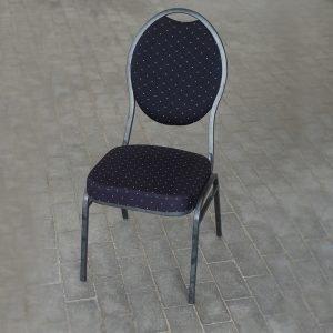 Banquet stol - Crome-Sort