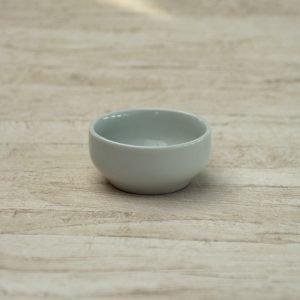 Smørskål diam 8,5 - Porcelæn