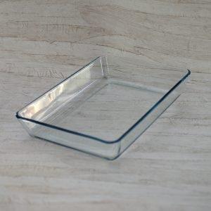 Ovn-serveringsfad - glas 35 x 32