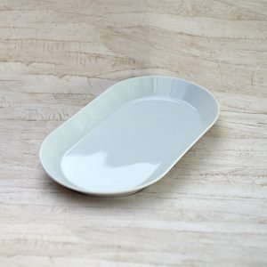 Serveringsfdad - porcelæn 38 x 22