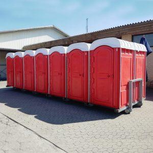 Flaklad 14 toiletter