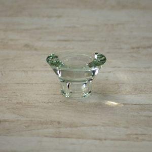 Lysestage Fyrfadsstage - Neglinge - Glas