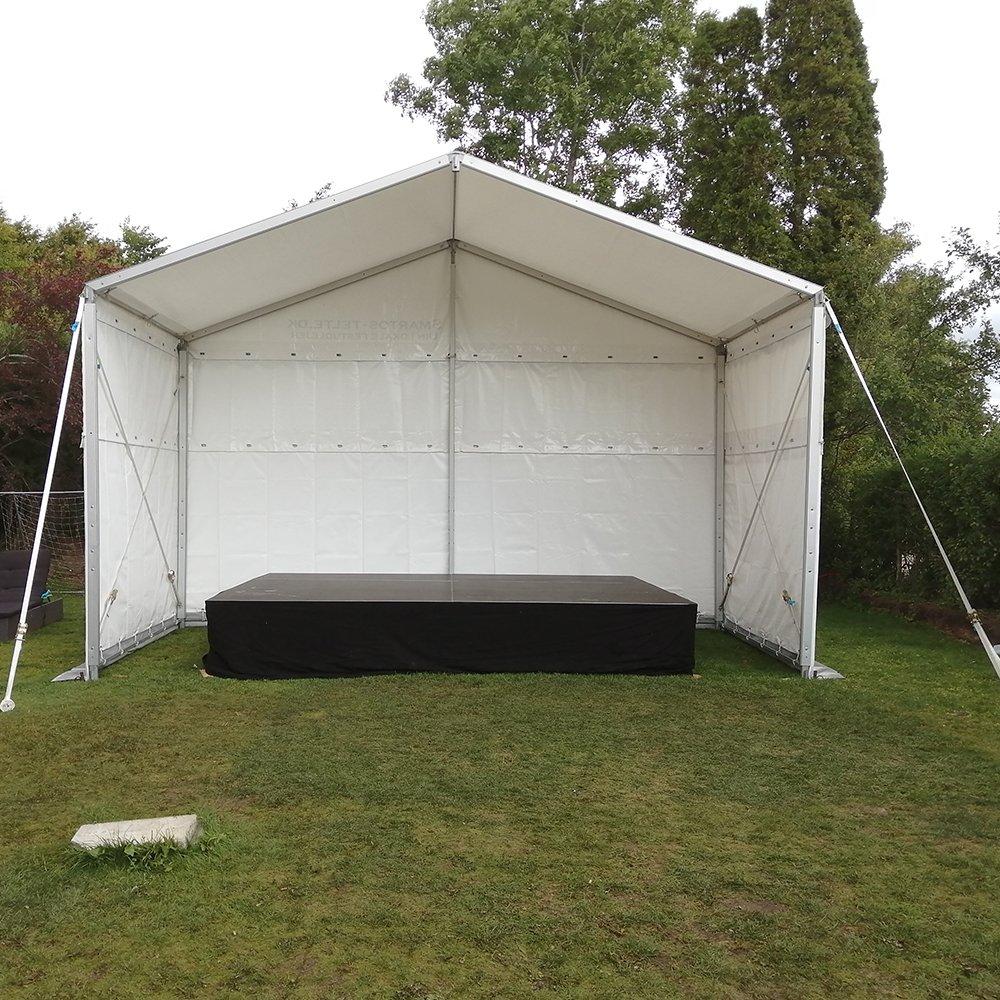 Scene telt 6 x 3 - benhøjde 3,20