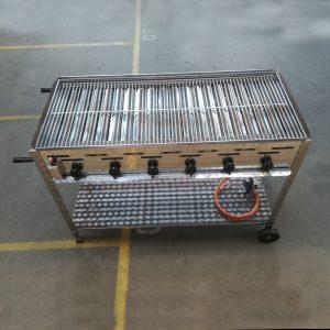 Gas grill 6 blus