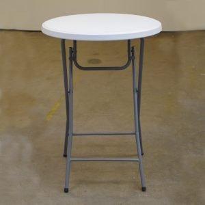 Ståbord plast ø80