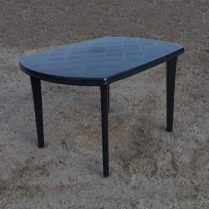 Ovalt plastbord