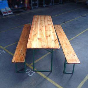 Bord bænkesæt - Træ 60 x 220