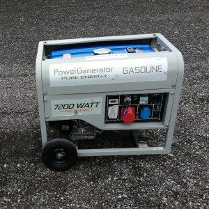 Generator 7200 watt - Benzin