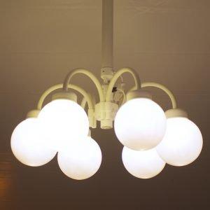 Lampe med 6 kupler