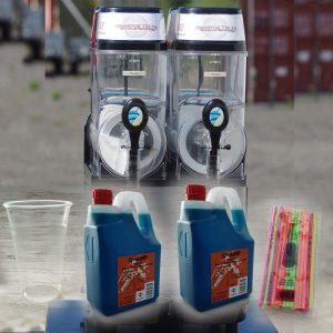 Slush ice maskine 2 kammer pakke