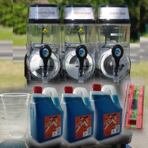 Slush ice maskine 3 kammer pakke
