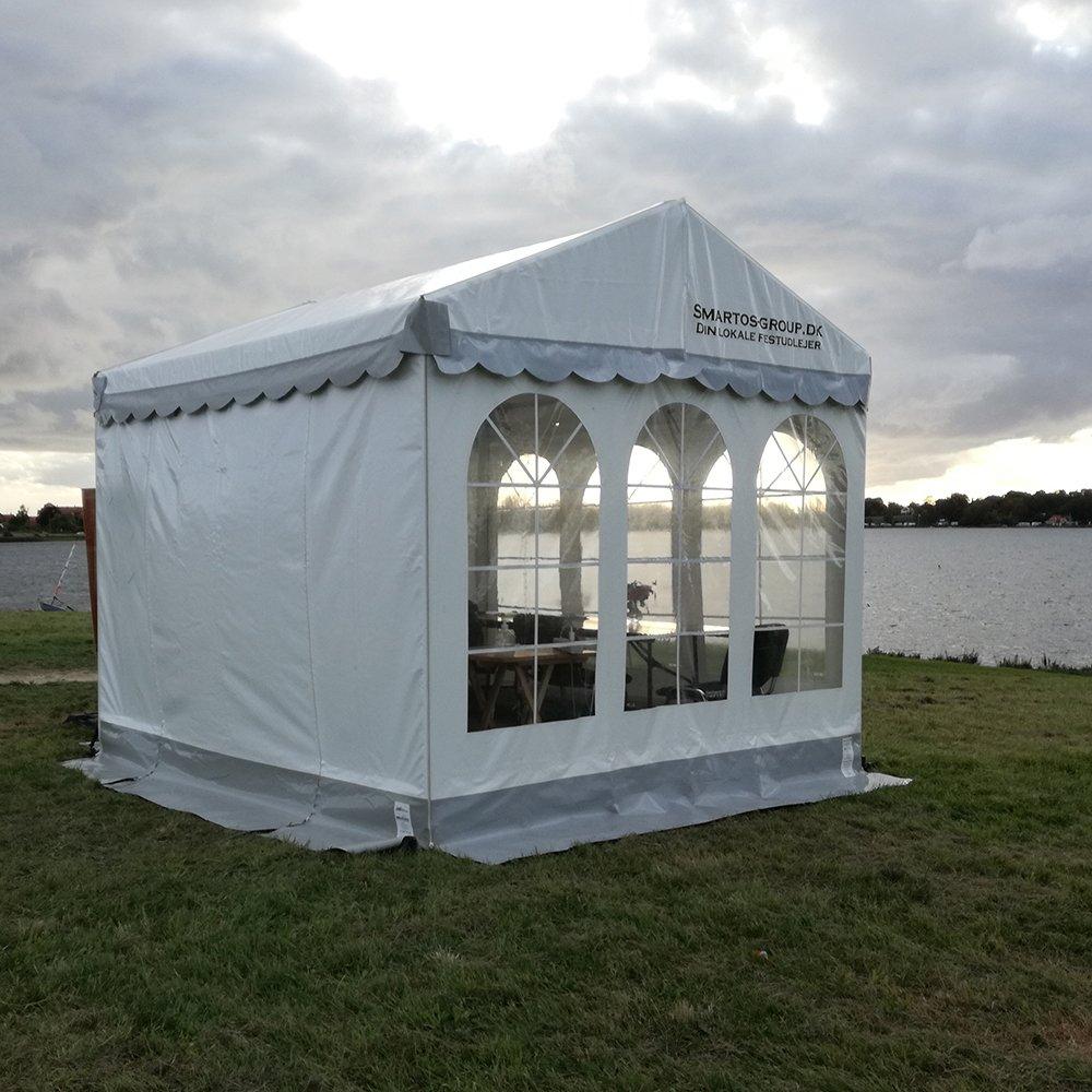 3 x 3 meter telt med udsigt
