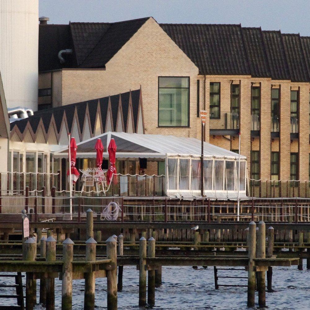 6 meter telt med panoramasider og gavl