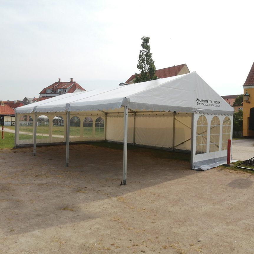 6 x 9 telt til Stafet for livet i Skælskør